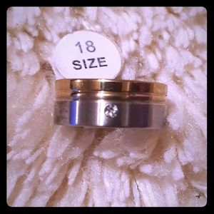 Jewelry - Stainless Steel W Ring